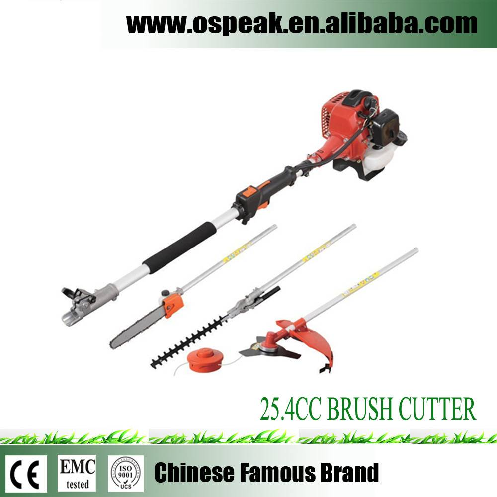 Multitools Gasoline Brush Cutter 52CC Garden Grass Trimmer Machine
