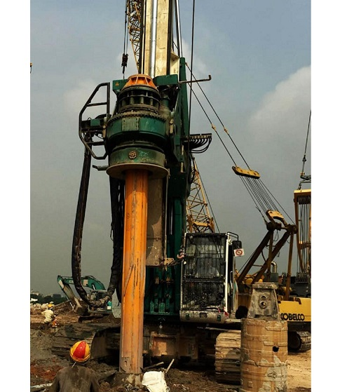 CMV TH 14/18/22 Rotary Piling Rig Spare Parts Interlock Friction Kelly Bar in Bauer Sany Liebherr Dr