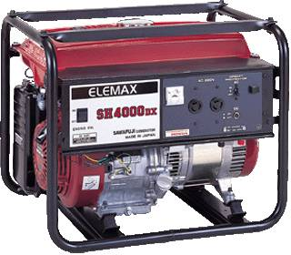 Elemax generator (SH4000DX)