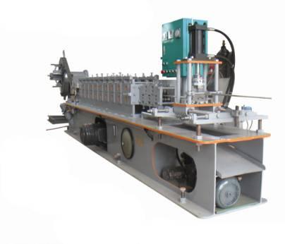 factory roller shutter door roll forming machine
