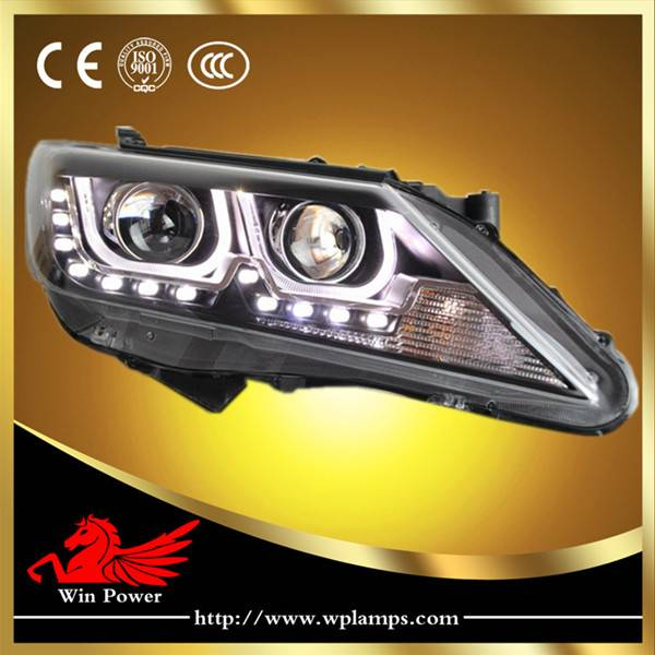 2012 2013 Toyota Camry Xenon Headlamp with Angel Eye and Bi-xenon Projector