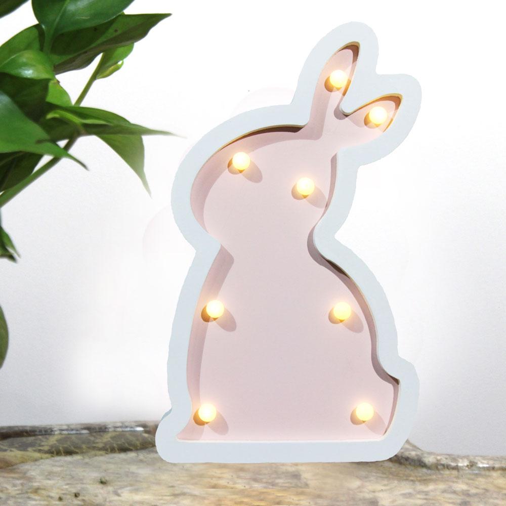 bunny led lighting kid wall lamp animal light toy lamp led tabletop night light