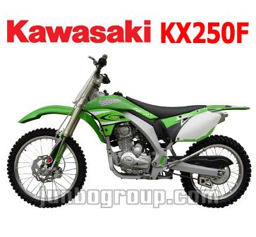 Dirt Bike 250cc Kawasaki KX250F Motocross