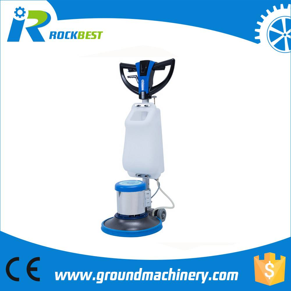 Multifunctional floor burnisher