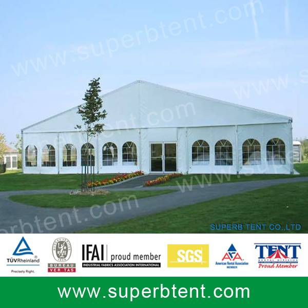 Event marquee tent for Secutiry