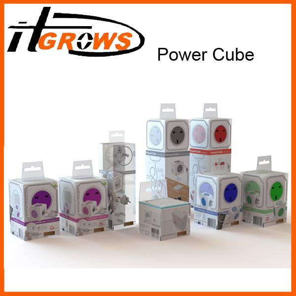 Allocacoc Extended Power Cube Electrical Socket