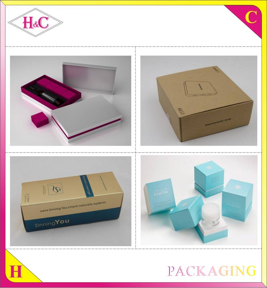 Wholesale high quality cardboard magnetic gift paper box