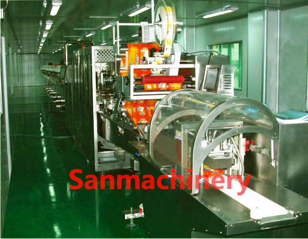 Automatic baby wet wipes making machine with CE(BWL40)