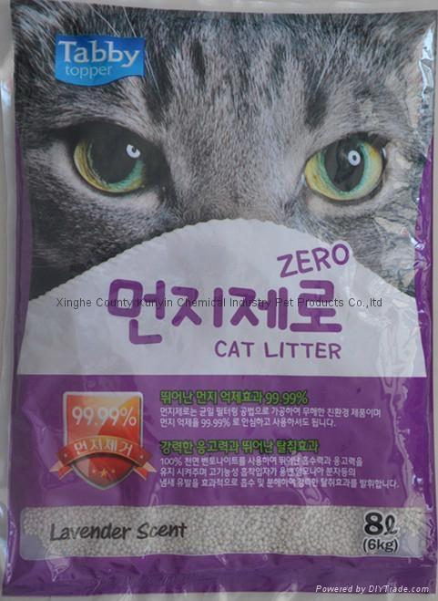 4L dust free Ball cat litter