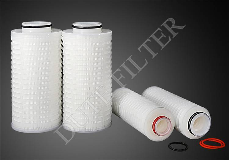 Excellent efficiency large flow filter cartridge for Ultra Purified Water filtration