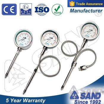 PT135C mechanical melt pressure gauge