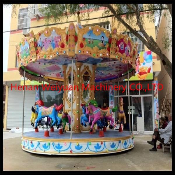 merry go round amusement park carousel horses for sale