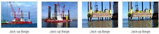European Design Portal Crane/ Jack-up Barge