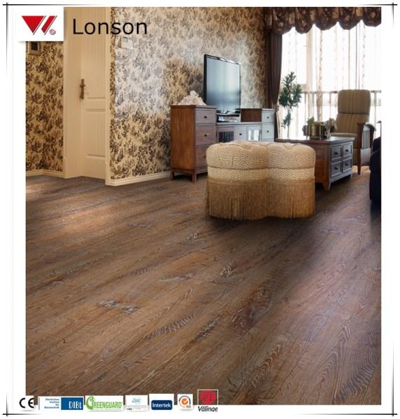 Cheap pvc vinyl flooring in valinge click