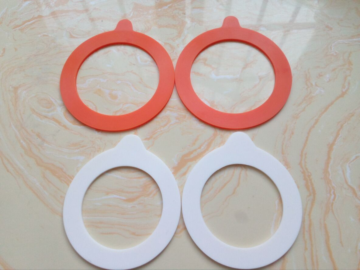 Custom Silicone Gasket BPA Free Food Grade NO Smell Silicone Rubber Gasket For Jar