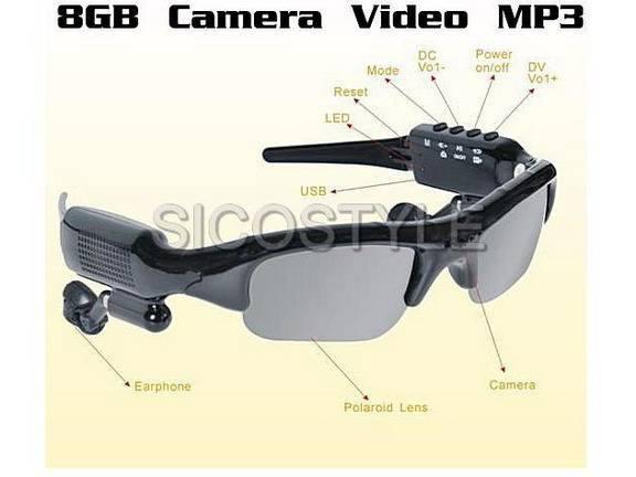 Sunglasses Video Camera + MP3