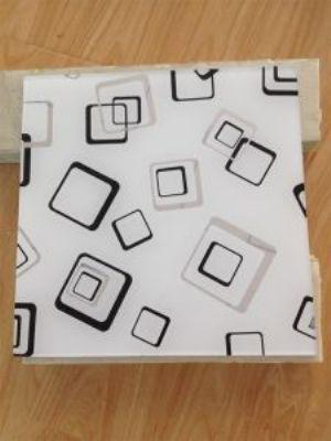 Acid Etched Pattern Glass/ Figured Glass / Window Glass / Frame Glass