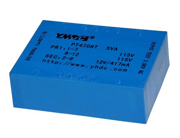 4VA PCB flat type isolation transformer