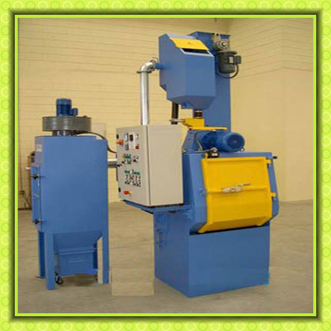 Tumble Belt Type Steel Shot Blasting Abrasive Machine