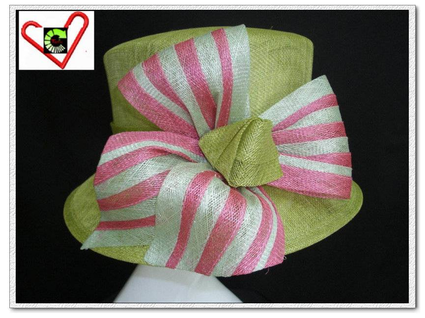 New Sinamay wedding and church hats