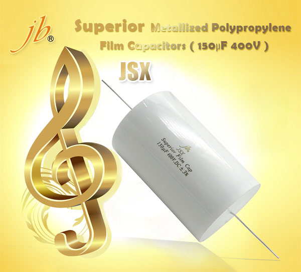 JSX--Superior Metallized Polypropylene Film Capacitors