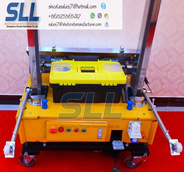 SINCOLA Auto rendering machine for wall,Automatic render machine for sale,cement plaster machine