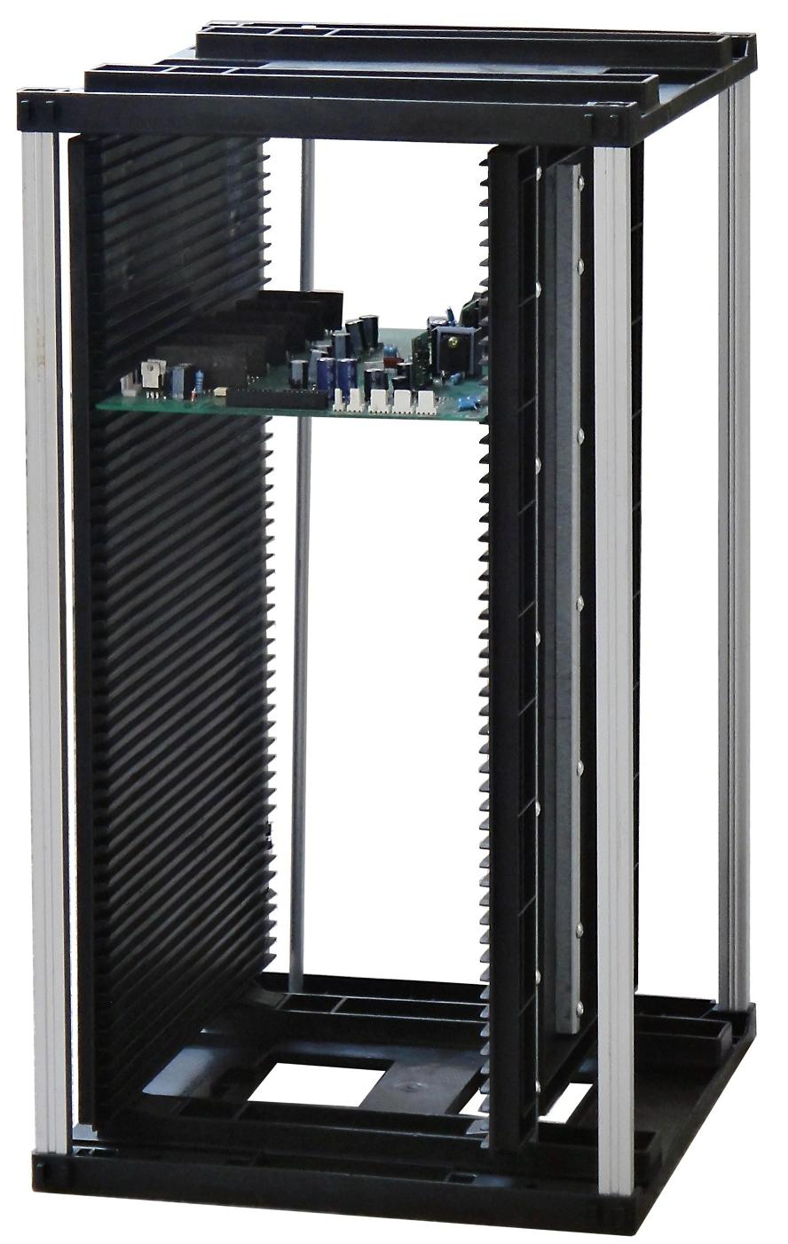 ESD PCB Magazine rack with lock