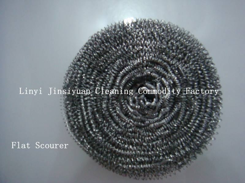 Hot sale stainless steel 410 flat scourer