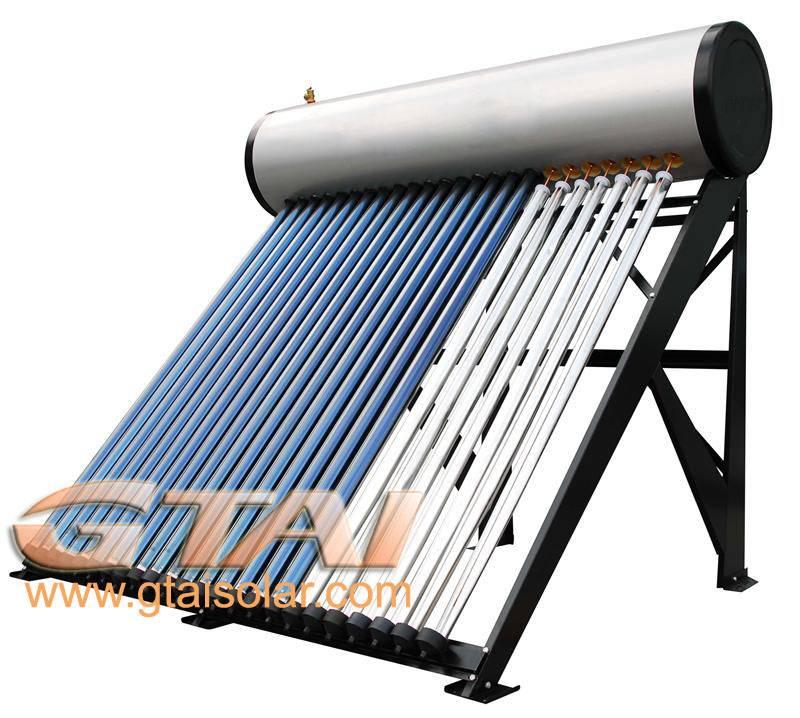 pressure solar water heater