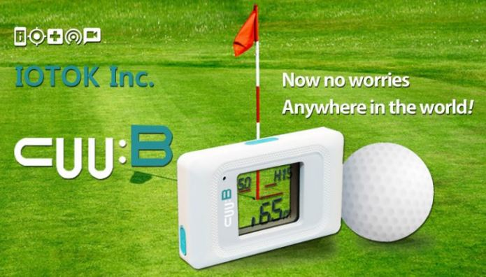 Cuu:B Golf Finder(simple real-distance measuring device)