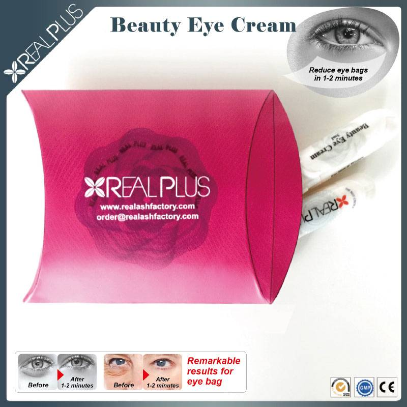 A refreshing gel helps to revitalize tired eyes Real Plus under eye dark circle cream