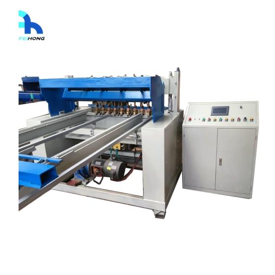 Automatic Welded Wire Mesh Machine for Fencing in Rolls
