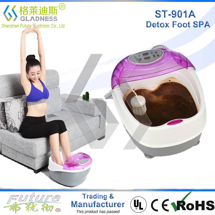 NEW TUB DETOX IONIC FOOT SPA MASSAGER ION CLEANSE DETOX FOOT SPA
