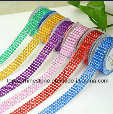 Crystal Colorful Acrylic Rhinestone Sticker Self-Adhesive DIY Stickers