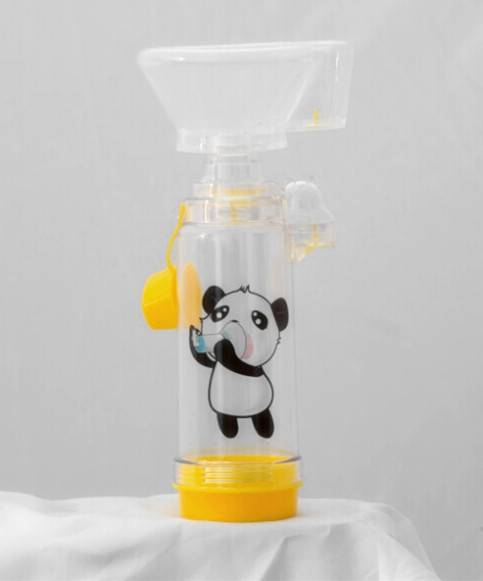 Anti-Static Valved Holding Chamber(panda spacer with child mask)