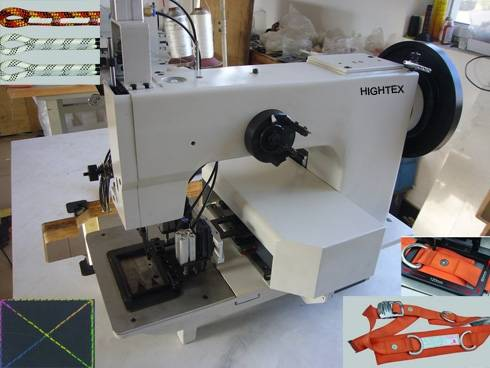 Extra Heavy Duty Thick Thread Automated Pattern Sewing Machine Simple Automated Sewing Machine Co Ltd