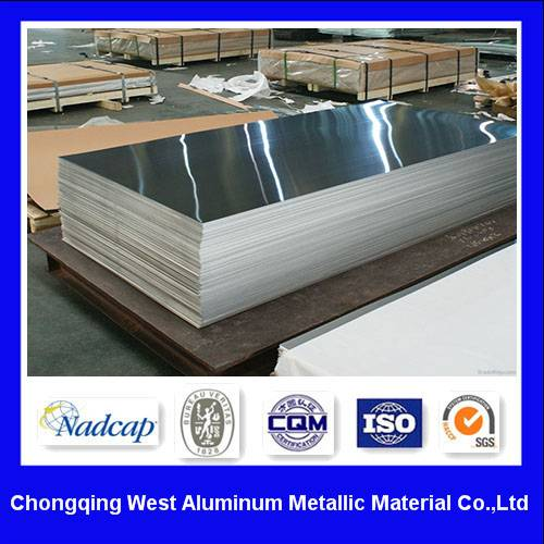 Aluminium Plate 7075 T6 with ASTM B 209 Standards