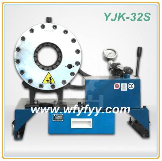 Brake Pipe Pressing YJK-32S Hydraulic Hose Crimping Machine