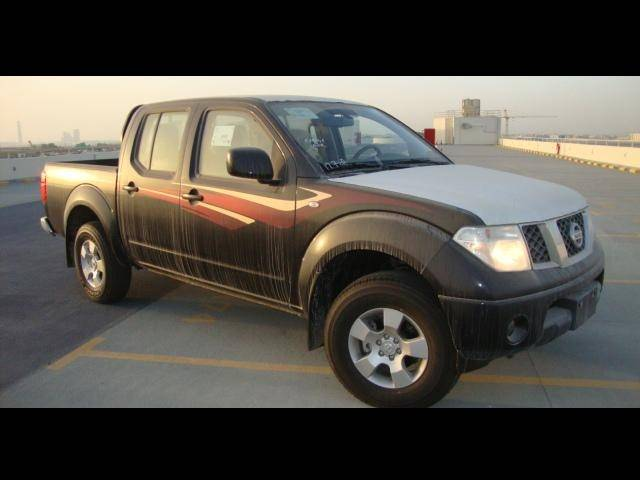 Nissan Navara LE 2.5L Diesel, Manual Transmission, Double Cabin, 4x4. Brand new, model 2013.