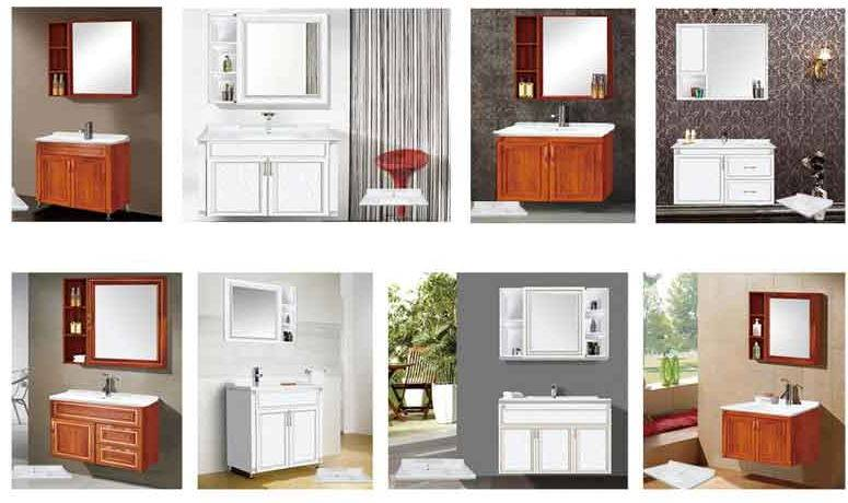 2016 New Technology Aluminum furniture Aluminum bathroom cabinet