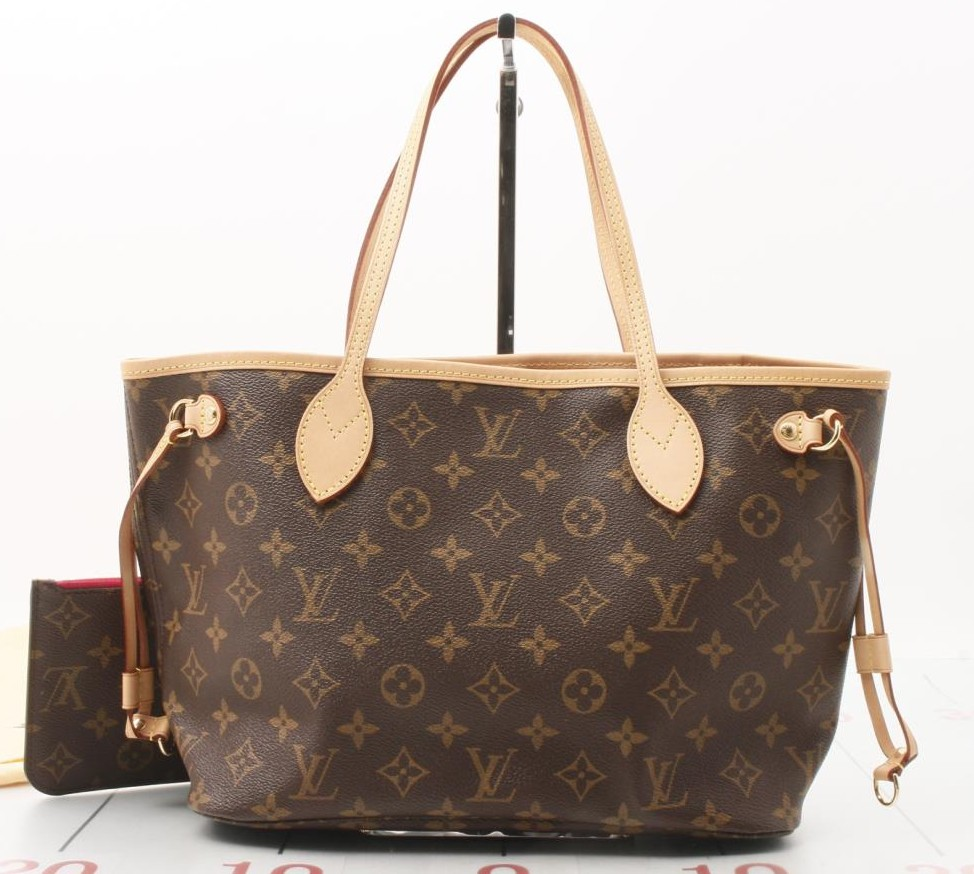 Preowned used authentic louis vuitton neverfull handbag for whole sale