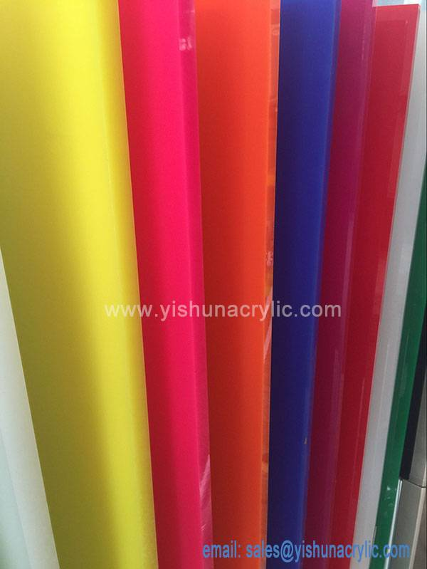 color acrylic sheet/colored plastic sheets/2mm acrylic sheets