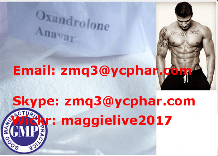 Fat Burning Anabolic Steroid Anavar Oxandrolone CAS 53-39-4