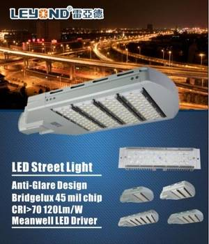 120lm/w LED Street Light 150w With Meanwell Driver Bridgelux Chip