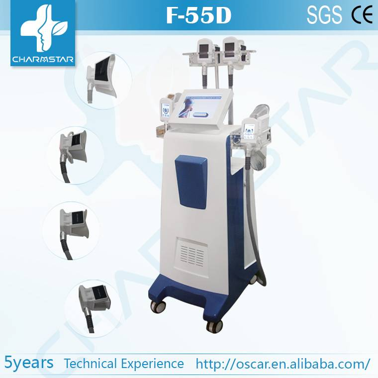 4 handle cryo Magic slim cryo body shaping equipment 2014 new product