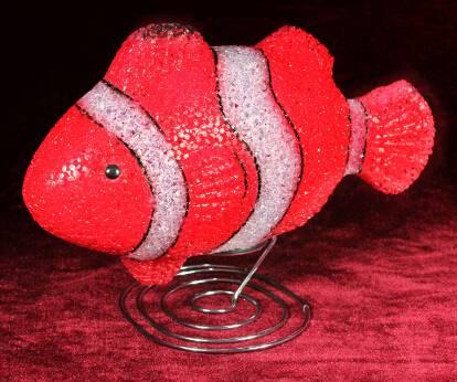 EVA&LED decorative ligts,Clown fishTable Lamp