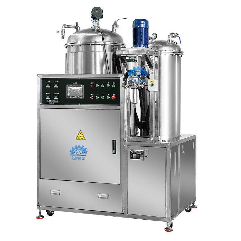 High temperature polyurethane elastomer casting machine