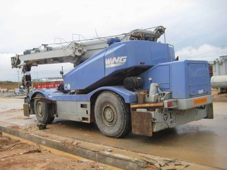 KOMATSU  LW500-1 50T used truck mounted crane for sale
