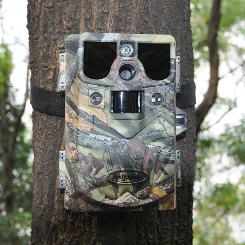 10mp HD 720P Invisible Black IR hunting camera up to 85ft