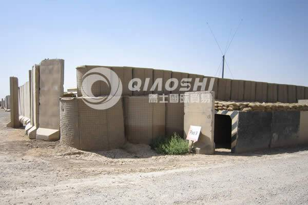 Military fortress explosion-proof wall welding Qiaoshi